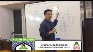Quran Tiru Bible - Bro Lim Jooi Soon, Surau Perdana