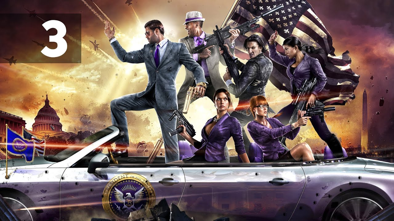 Saints Row 4 Wallpapers: Прохождение Saints Row 4 Co-op