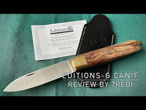Editions G Canif by Laurent Gaillard - French Traditional Slipjoint Awesomeness!
