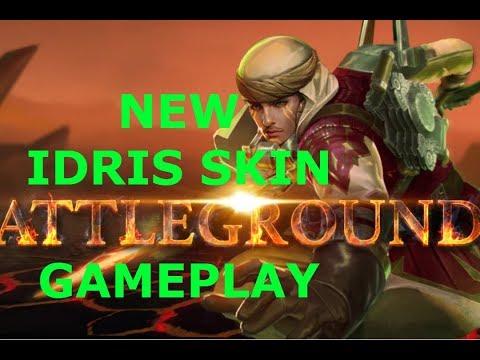 ORIGIN'S IDRIS SKIN  VAINGLORY GAMEPLAY!!!