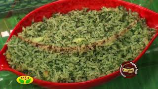 Arusuvai Neram 12-09-2017 – Jaya TV cookery program – Kariveppila Milagu Sadam & Appalam Sundal Pizza