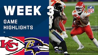Chiefs vs. Ravens Week 3 Highlights | NFL 2020