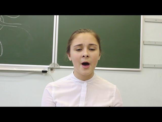 Изображение предпросмотра прочтения – ЕлизаветаКуклина читает произведение «Я тебя отвоюю...» М.И.Цветаевой