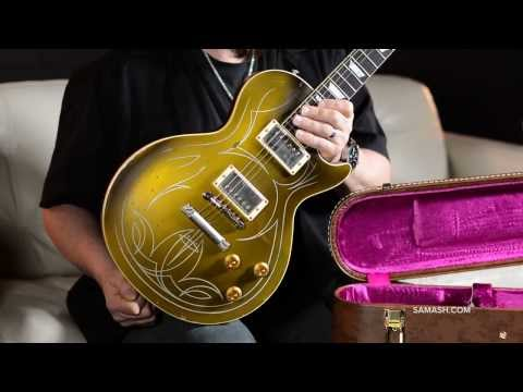 Gibson Custom Billy F. Gibbons Goldtop Les Paul Aged Electric