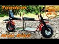 2 Seater / Tandem Mini Bike Build Ep2