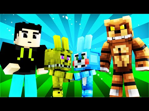 FNAF World - ANIMATRONIC LOVE! (Minecraft Roleplay) Day 15