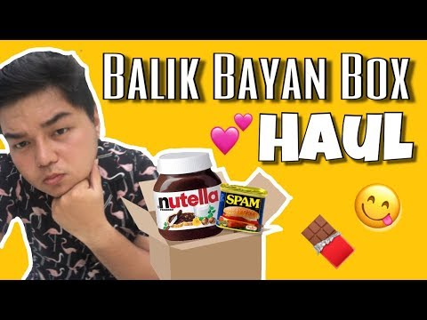 Biglaan Unboxing, Balikbayan Box Haul! (Philippines) | Jaeirus De Vera