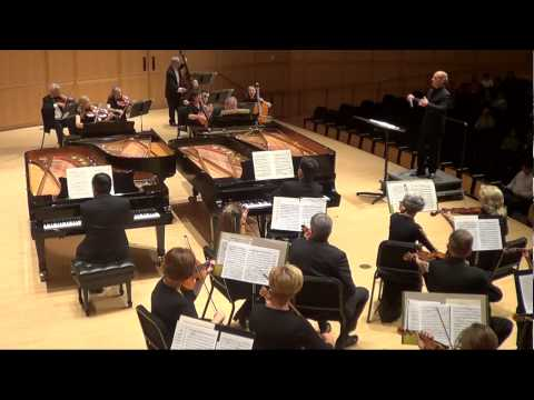 Bach Concerto for Three Pianos and Orchestra- Ning Lu, Jeffrey Price, Larry Gee