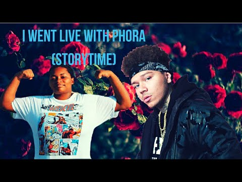 I WENT LIVE WITH PHORA ! (Storytime)