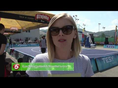 Ecos Romari pobjednik Streetbal turnira