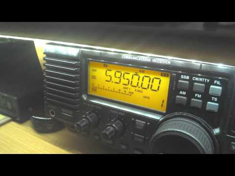 Voice of Tigray Revolution, Ethiopia 5950 kHz, 19:28 UTC