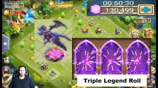 ONE Day Old DEMOGORGON 130000 Gems For Heroes Castle Clash