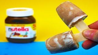 Das schnellste und einfachste Rezept für leckeres Nutella Eis