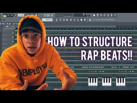 HOW TO STRUCTURE A RAP BEAT??? (Chuki Beats Tutorial)