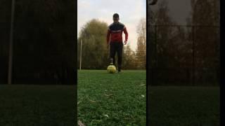 Кирилл Кирьянов  с мячом перевернуть и поставить