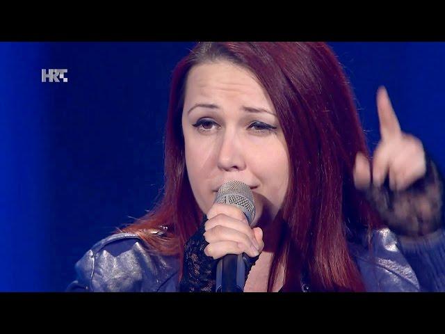 "Ruža Janjiš: ""You Shook Me All Night Long"" - The Voice of Croatia - Season2 - Blind Auditions4"