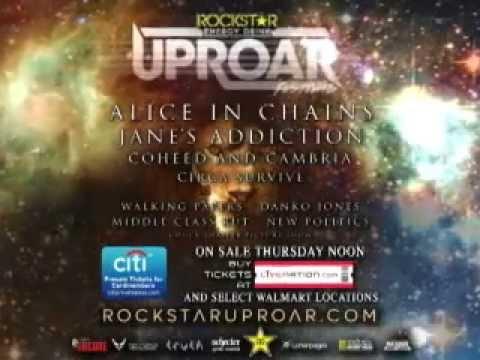 Rockstar Energy Drink Uproar Festival - Live at Shoreline on 9.11.13