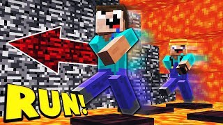 INSANE MINECRAFT MEGA LAVA RUN!
