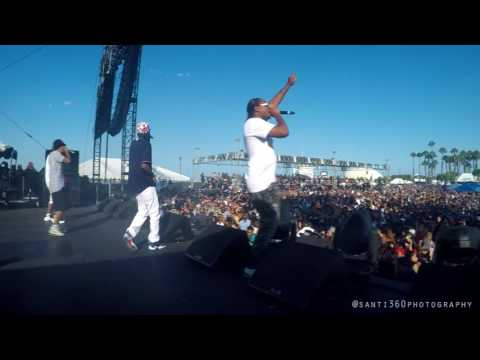 Bone Thugs-N-Harmony at Summertime in the LBC Concert