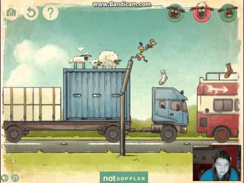 Барашек Шон серия 99 - Игра теней / Shaun the Sheep - The Shadow Play (HD)
