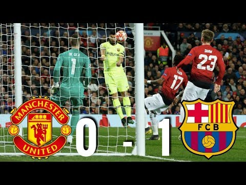 Manchester United vs Barcelona [0-1] - Champions League Quarter-Final, 2019 - MATCH REVIEW