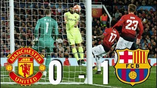 A luke shaw own goal was the difference between man united and barcelona on night at old trafford. with coming after some nice build-up play fro...