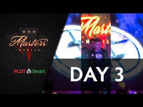 Day 3   The Manila Masters