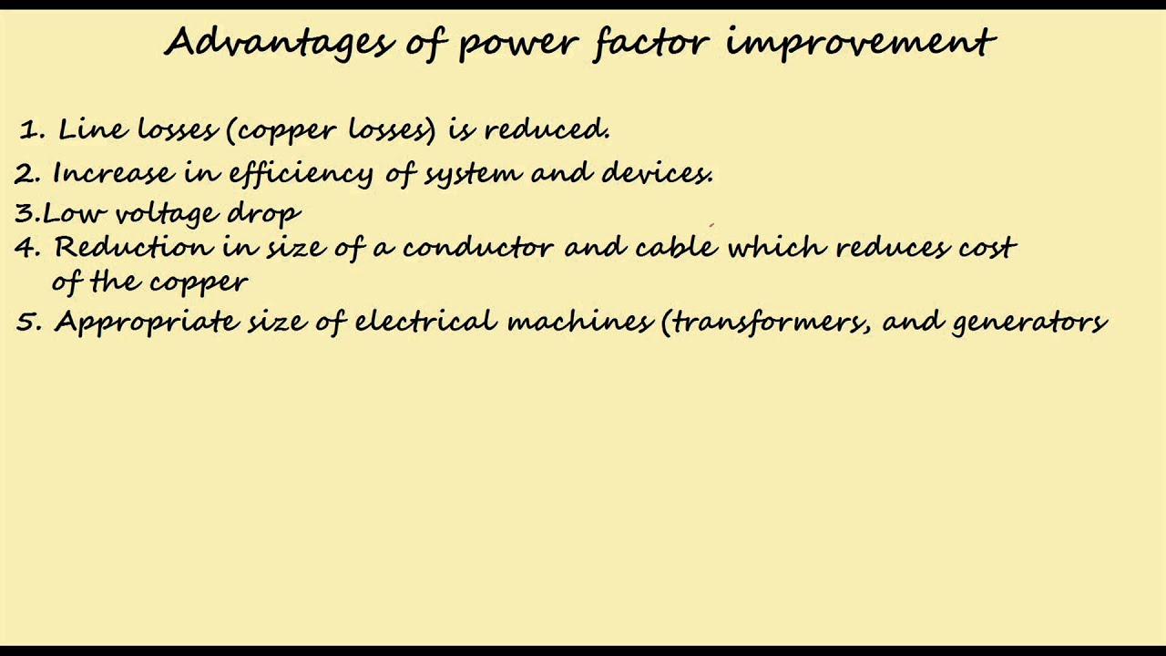 how to work out power factor