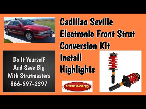 How To Fix The Front Electronic Suspension On A Cadillac Seville