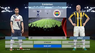 Tottenham Hotspur vs Fenerbahce SK, White Hart Lane, PC GAMEPLAY, PCGAMEPLAY, PES 2016, Konami