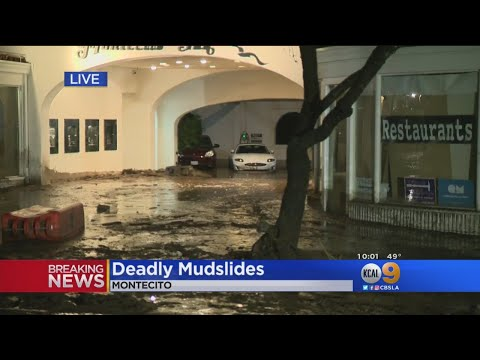 Montecito Digs Out From Deadly Mudslides