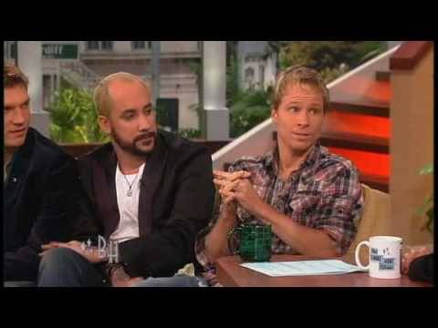 Backstreet Boys Interview - Part 1 -- THE BONNIE HUNT SHOW