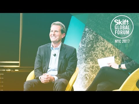Wyndham Hotel Group President & CEO Geoff Ballotti at Skift Global Forum 2017