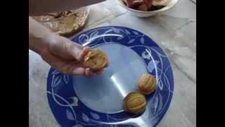Печенье Орешки видео рецепт - рецепты от Юльетты