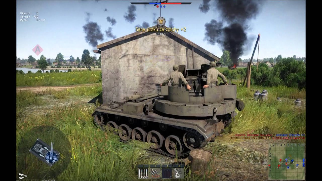 War Thunder Tanky M19 A Mapa Polska Youtube