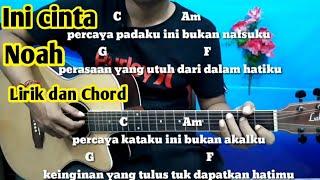 Download lagu Kunci Gitar Noah Ini Cinta | Tutorial Gitar By Darmawan Gitar