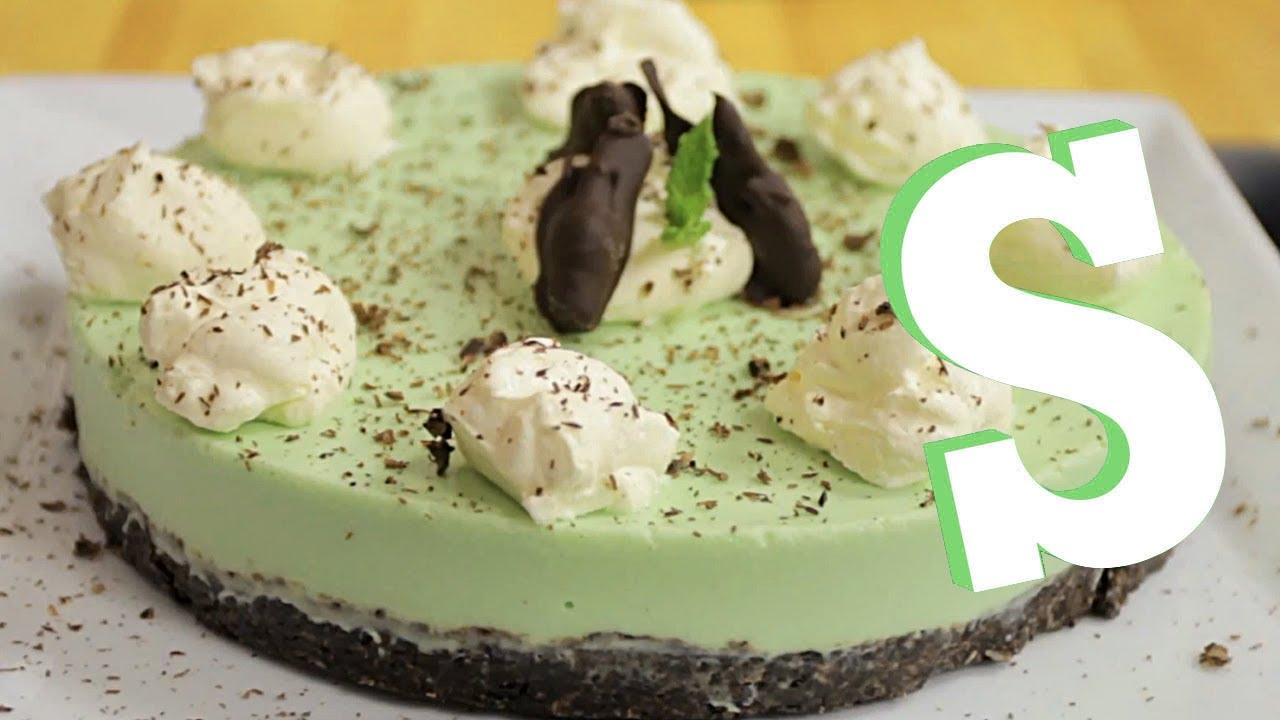 How To Make Grasshopper Pie - YouTube