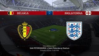 Belgica vs Inglaterra | Mundial Rusia 2018 | Fifa World Cup Russia 2018 | Partido Completo