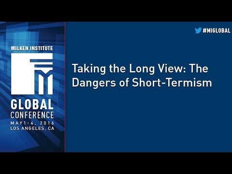 Taking the Long View: The Dangers of Short-Termism