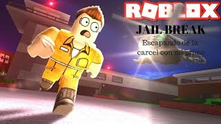 Roblox: jail break -- Escaping jail with my cousin/Goku 745