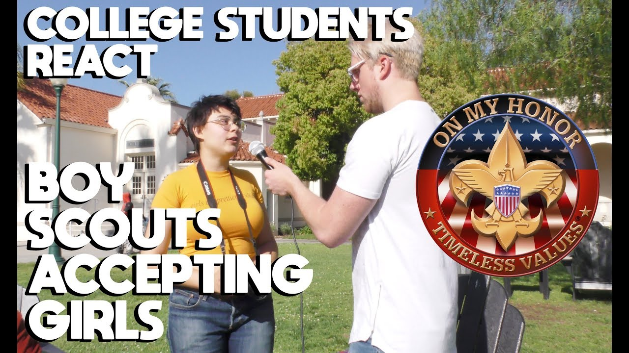 SJW College Students React to Boy Scouts Accepting Girls | Slightly Offens*ve