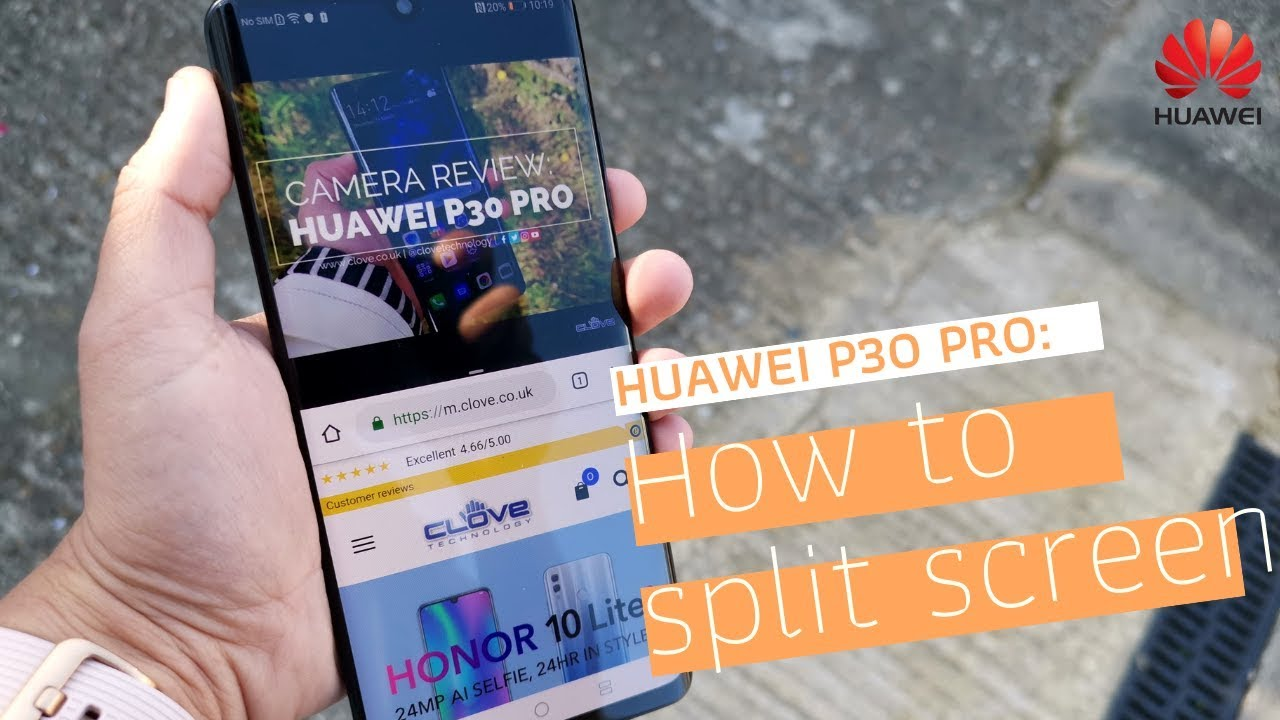 How to Enable Split Screen Mode on Huawei P30 Pro