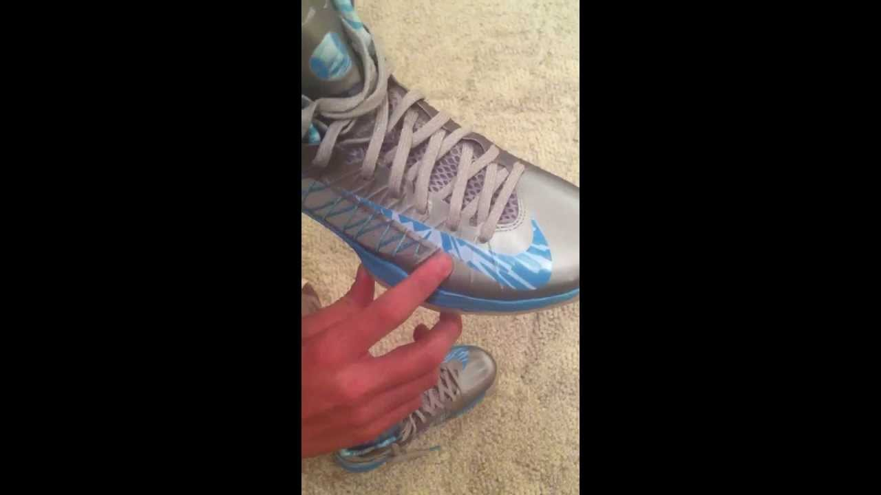 d13bcc68d38 Nike HyperDunks 2012 Review + On Feet Blue And Silver Color Way ...