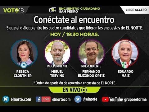 Encuentro Ciudadano: SAN PEDRO