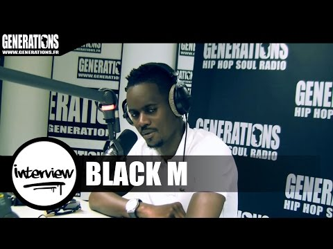 Black M - Interview (Live des studios de Generations)