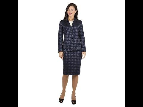 Модные женские деловые костюмы в этом году