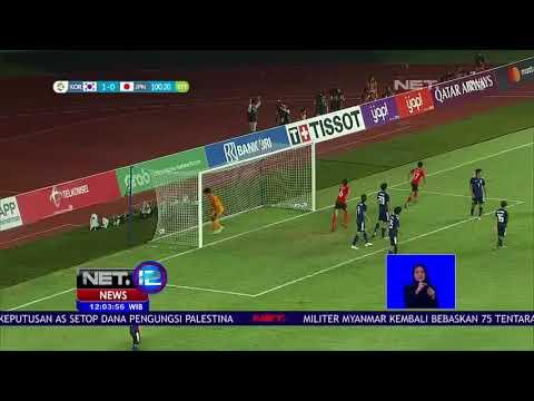 Taklukan Jepang 2-1,Akhirnya Timnas Korsel Keluar Jadi Juara  Sepakbola Asian Games 2018-NET12