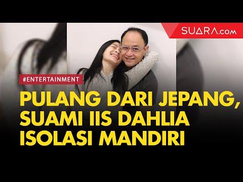 Pulang Dari Jepang, Suami Iis Dahlia Isolasi Mandiri Di Rumah