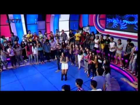 120716 VJ DANIEL & MAHARASYI (Bendera / Dance!I Love Indonesia)