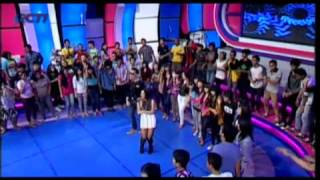 120716 VJ DANIEL & MAHARASYI (Bendera / Dance!I Love Indonesia)